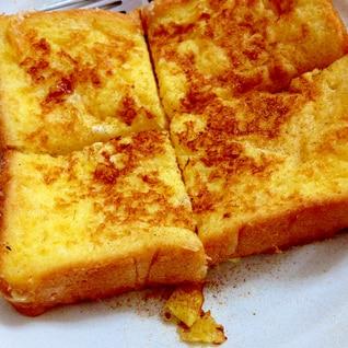 豆乳入りフレンチシナモントースト