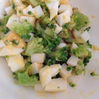 離乳食☆ブロッコリーとゆで卵のサラダ