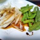 新玉葱&インゲンの和洋サラダ