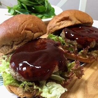 ブランバンズの低糖質ハンバーガー