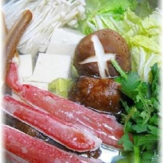 おうちで宴会!ほっこりあったかカニ鍋☆