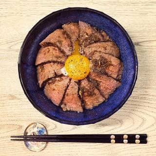 低糖質!ローストビーフ丼!