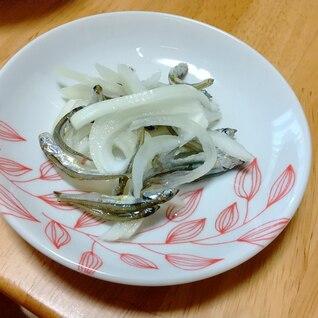 体にいい☆煮干しと玉ねぎの酢の物