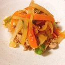 冬の定番野菜で作れる豚肉の韓国風炒め