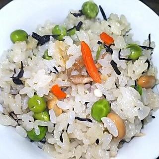 ひじき煮物☆炊き込みご飯