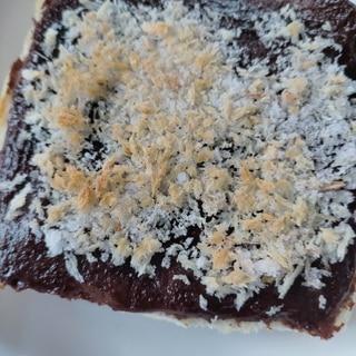 魚焼きグリルでマヨネーズ&ココアのトースト