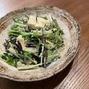 ひじきと豆腐のマヨ酢サラダ