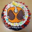 簡単☆仮面ライダーゴーストのバースデーケーキ
