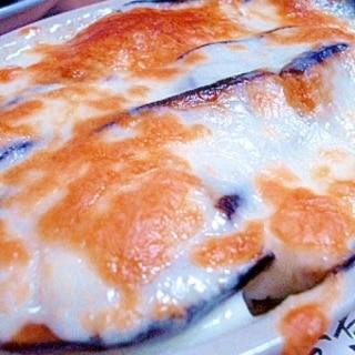 ナスと豆腐のチーズ焼き
