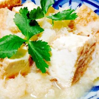 麺つゆで簡単❤︎厚揚げのおろし煮