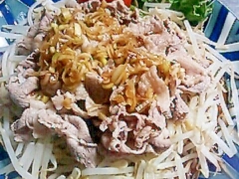 安いお肉で簡単豚しゃぶ