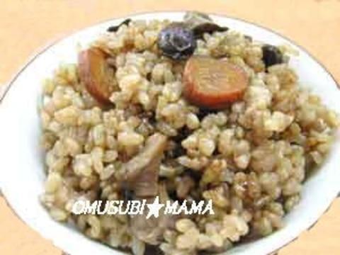 黒豆幻米で炊き込みごはん~干し野菜編~
