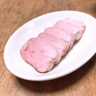 豚ヒレ肉の低温調理
