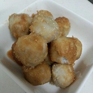 里芋団子の照り焼き