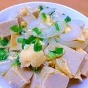 今が旬♪新玉ねぎと高野豆腐の玉子とじ☆