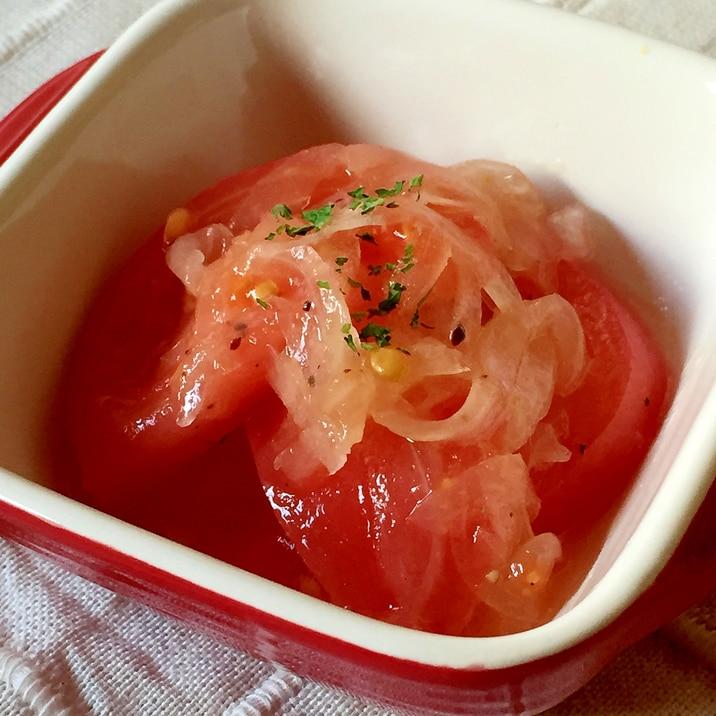 あっさり爽やか☆新玉ねぎとトマトのマリネ