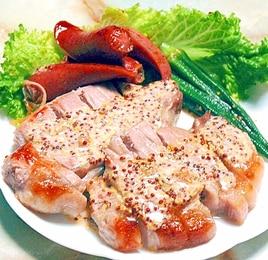 豚ロースのグリルステーキ