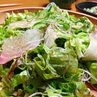 鯛の簡単サラダ