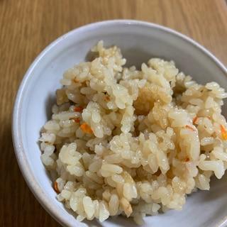 シンプルが美味しい♪松茸ご飯