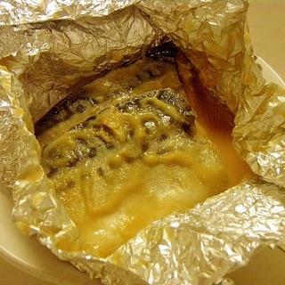 懐かしい給食メニュー★鯖の味噌ホイル包み