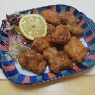 カリっと&ジューシーなオイソ風味の鶏竜田揚げ