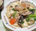 豆腐と豚肉の炒め煮
