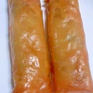 豚肉と野菜の春巻