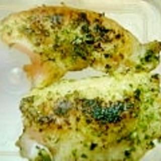 青さ入り☆白身魚のムニエル