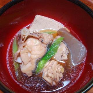 昔ながらの鱈汁(醤油味)