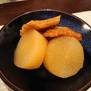 冷凍野菜レシピ①さつま揚げと大根の煮物