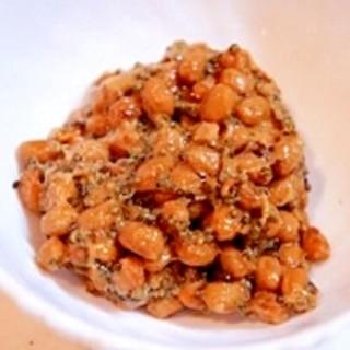 ぷちぷち畑のキャビア、とんぶり味噌納豆