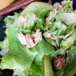 男飯!超簡単シャキシャキレタスサラダ