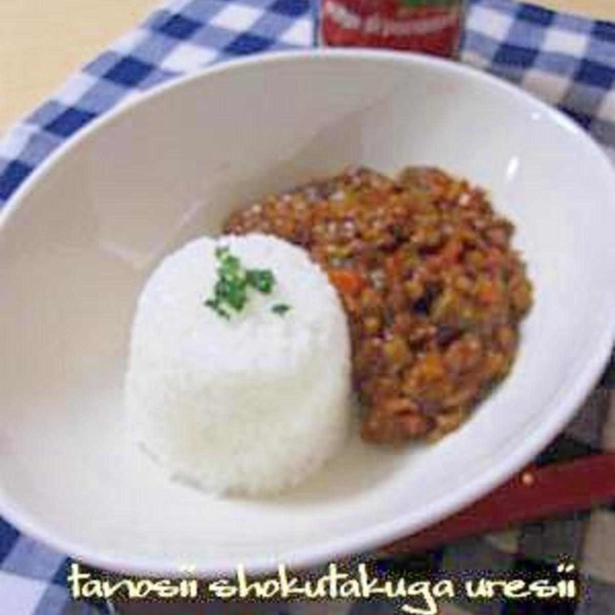 トマト 缶 カレー キーマ