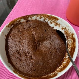 【ノンオイル】【高タンパク】チョコカップケーキ