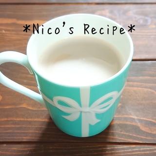 ミルク出しコーヒー