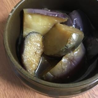 揚げナスの煮浸し