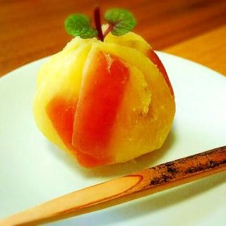 りんごとさつまいもの茶巾絞り☆