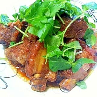 活力鍋deスペアリブのマーマレード煮