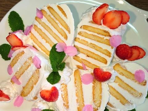 ビスケット☆サンドケーキ