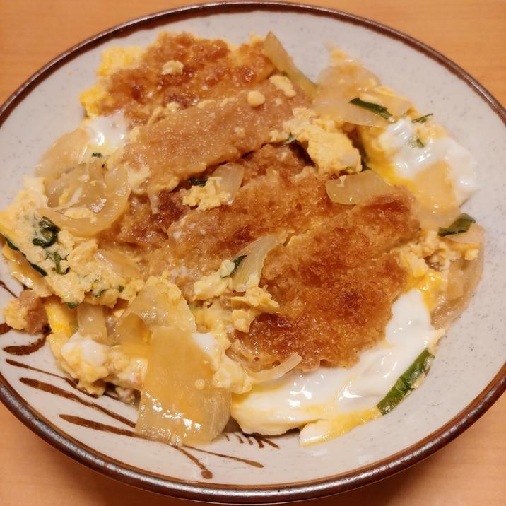 めんつゆで☆簡単カツ丼
