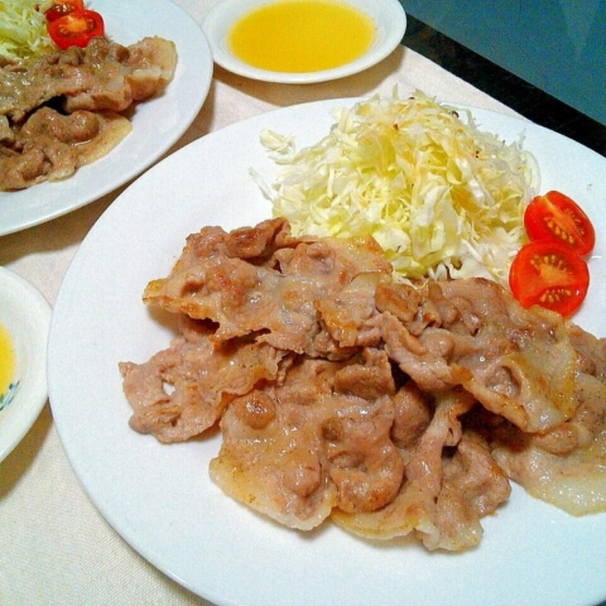 豚 肩 ロース スライス レシピ
