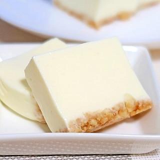パウンド型でレア・チーズケーキ☆生クリーム無し