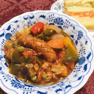 我が家の定番料理♪ラタトゥイユ