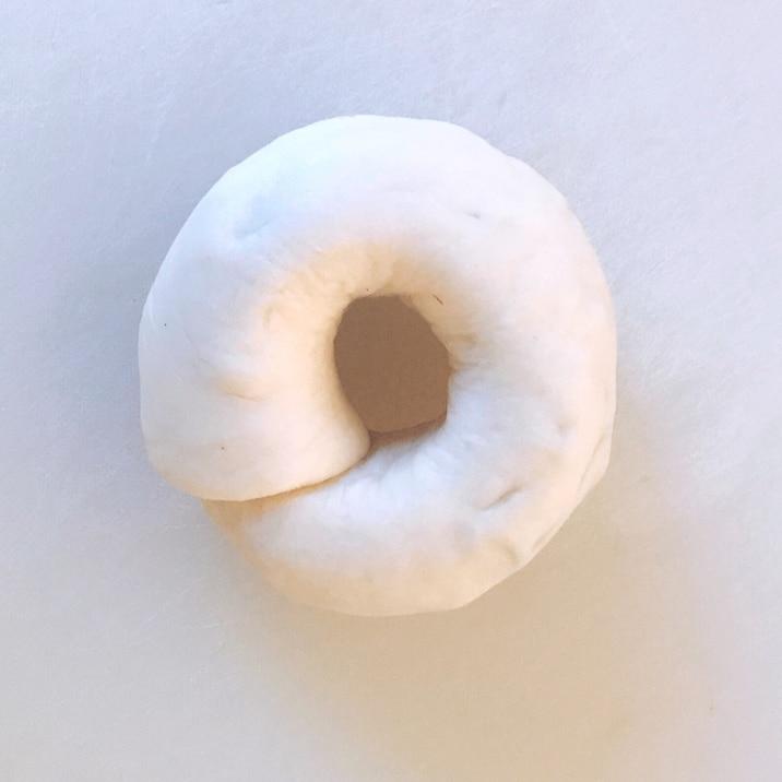 茹でても外れないベーグルの成形方法☆(写真付き)