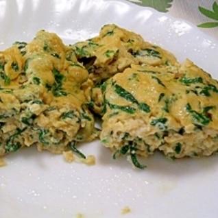 今日も元気に、ニラ入,スタミナ卵焼き
