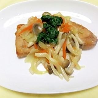 疲れ回復に一番の食材、カジキマグロを野菜と美味しく