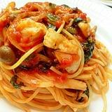 トマト系パスタ