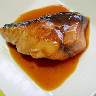 ブリの甘酢しょうが照り焼き