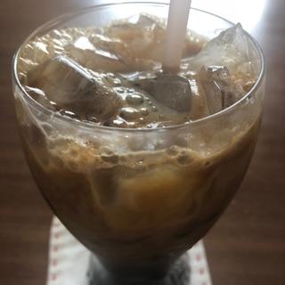 アイスコーヒー(乳酸菌飲料入り)