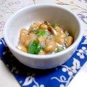 苦手克服♪納豆とネバネバ海草(海藻)の小鉢